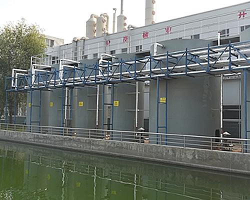 河南某电镀公司化学镍废水处理项目